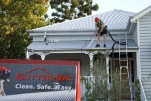 Quality and Safety Assured when cleaning your gutters!