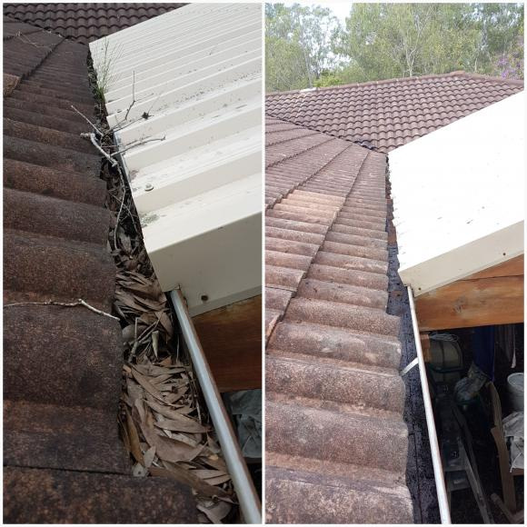 Gutter-Vac Brisbane South East, the only way to clean THAT gutter