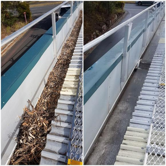 Gutter-Vac Brisbane South – East meets Bunnings Cannon Hill.