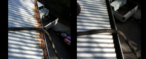 Before and After Video of Cleaning Gutters in Tasmania