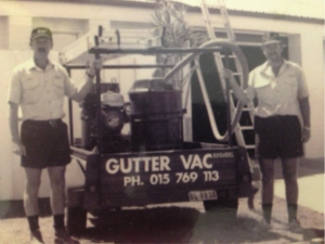 The Gutter-Vac concept . . . necessity is the mother of all inventions.