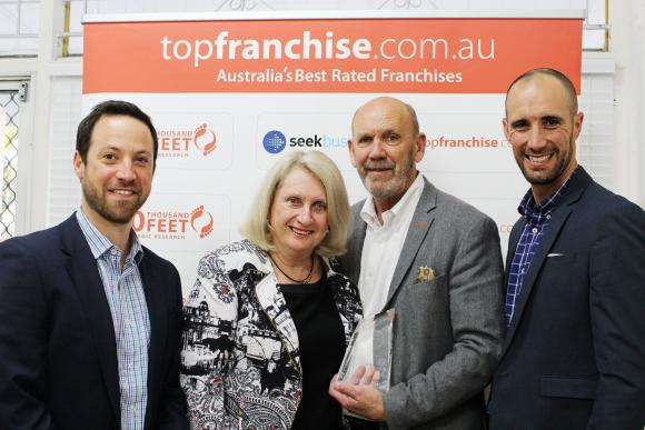 Gutter-Vac Voted Top Franchise in Australia!