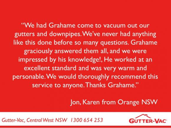 Thank you Jon and Karen for your Testimonial