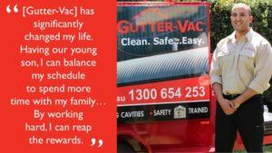 Meet Mina from Gutter-Vac Manningham