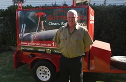 Cheers to Gutter-Vac's newest franchisee, Steve Hambly