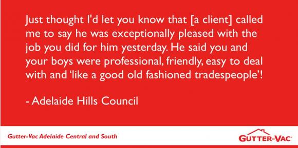 Feedback from our customers