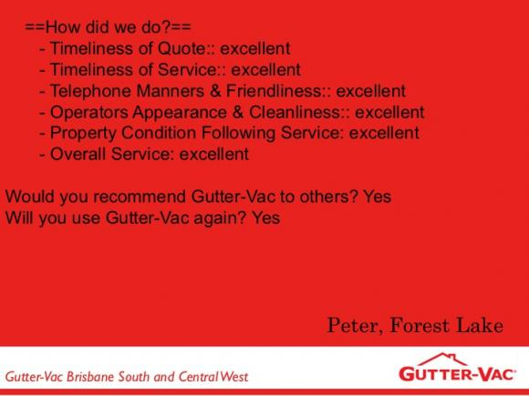 Website Feedback From One Of Our Happy Customers
