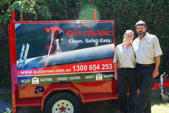 Meet Lyn and Llew from Gutter-Vac Townsville