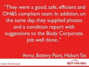 It Is Great To Hear Such Positive Feedback From Our Body Corporate Gutter Cleaning Customers