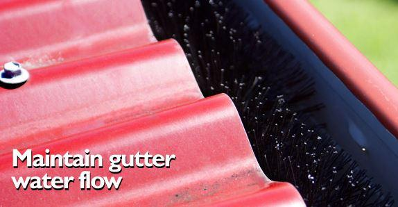 Gutter Guards= No More Cleaning= FALSE