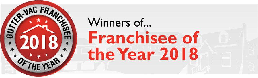 Gutter-Vac franchisee of the year 2018