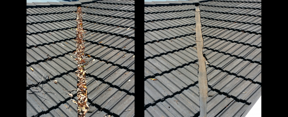 Before and Afters of Gutter Cleaning