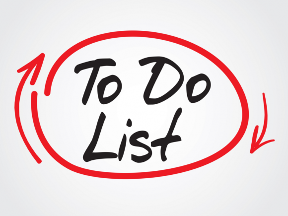 Your weekend to do list.