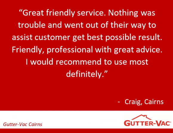 Cairns Customer Happy with our Ceiling Cavity Cleaning Service