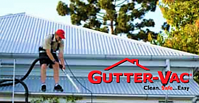 Gutter Cleaning using the Ground Workers Kit