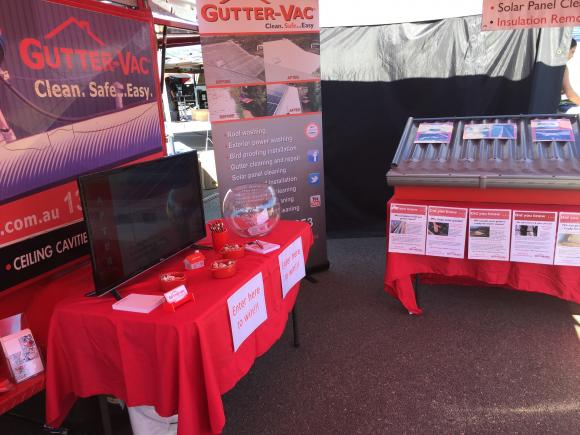 Gutter-Vac had a Great Weekend at The Townsville Expo