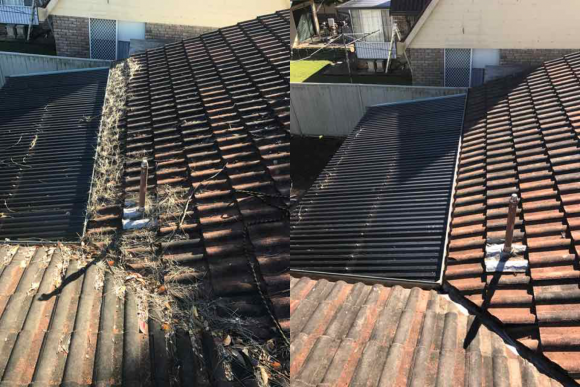 Gutter Cleaning in Charlestown