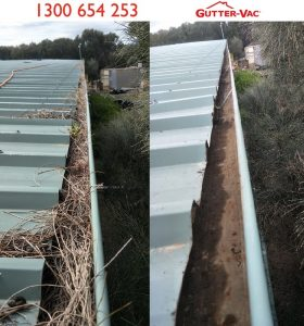 Hobart Commercial Gutter Cleaning Customer Loves Their Clean Gutters
