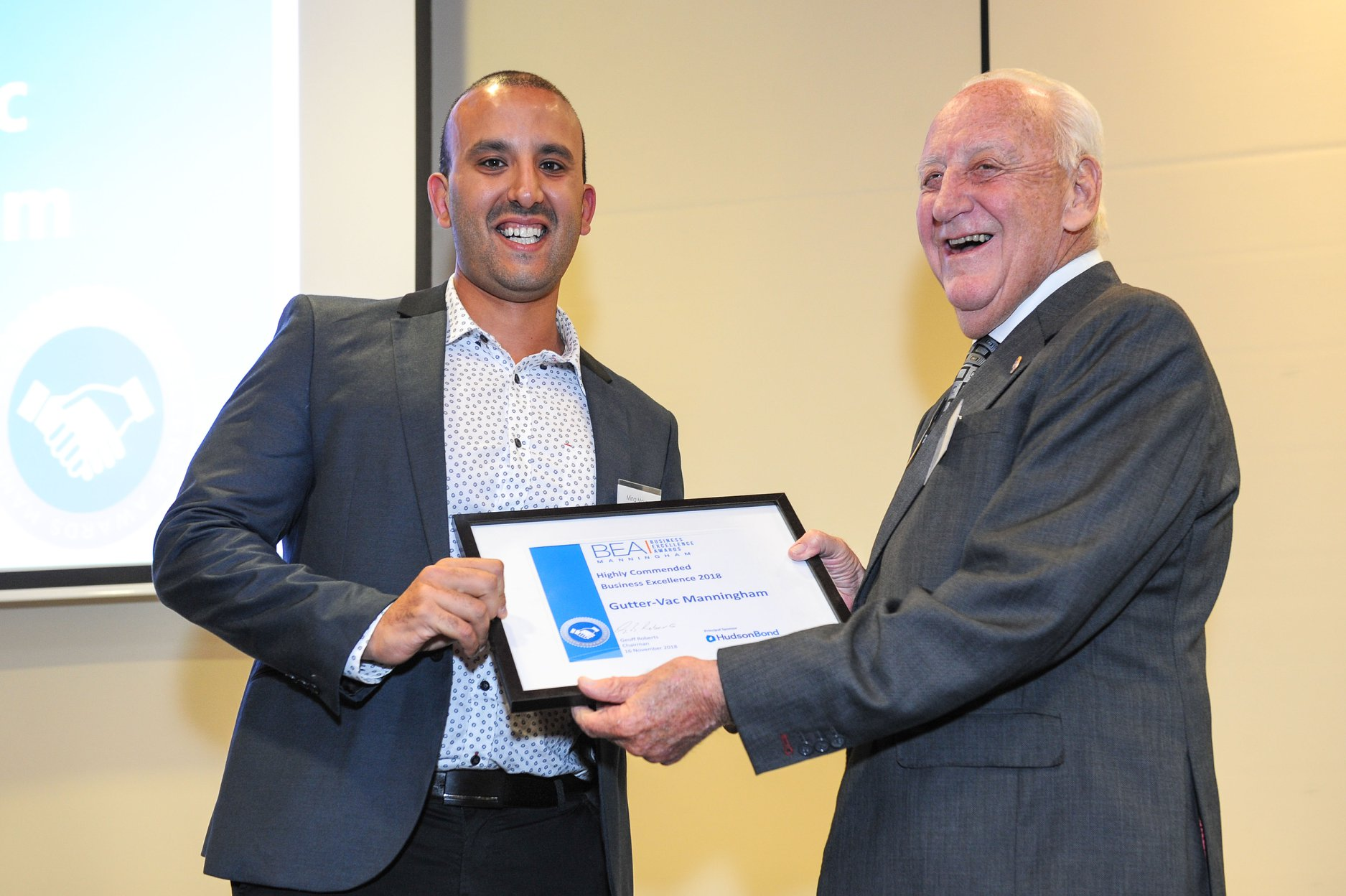 Mina Moussa – winner at the Manningham Business Excellence Awards