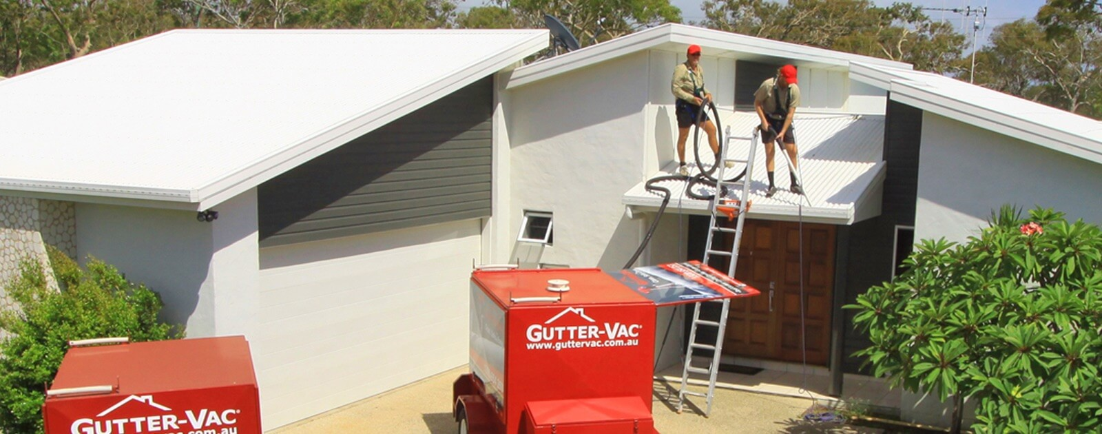 Gutter-Vac offers professional gutter cleaning services