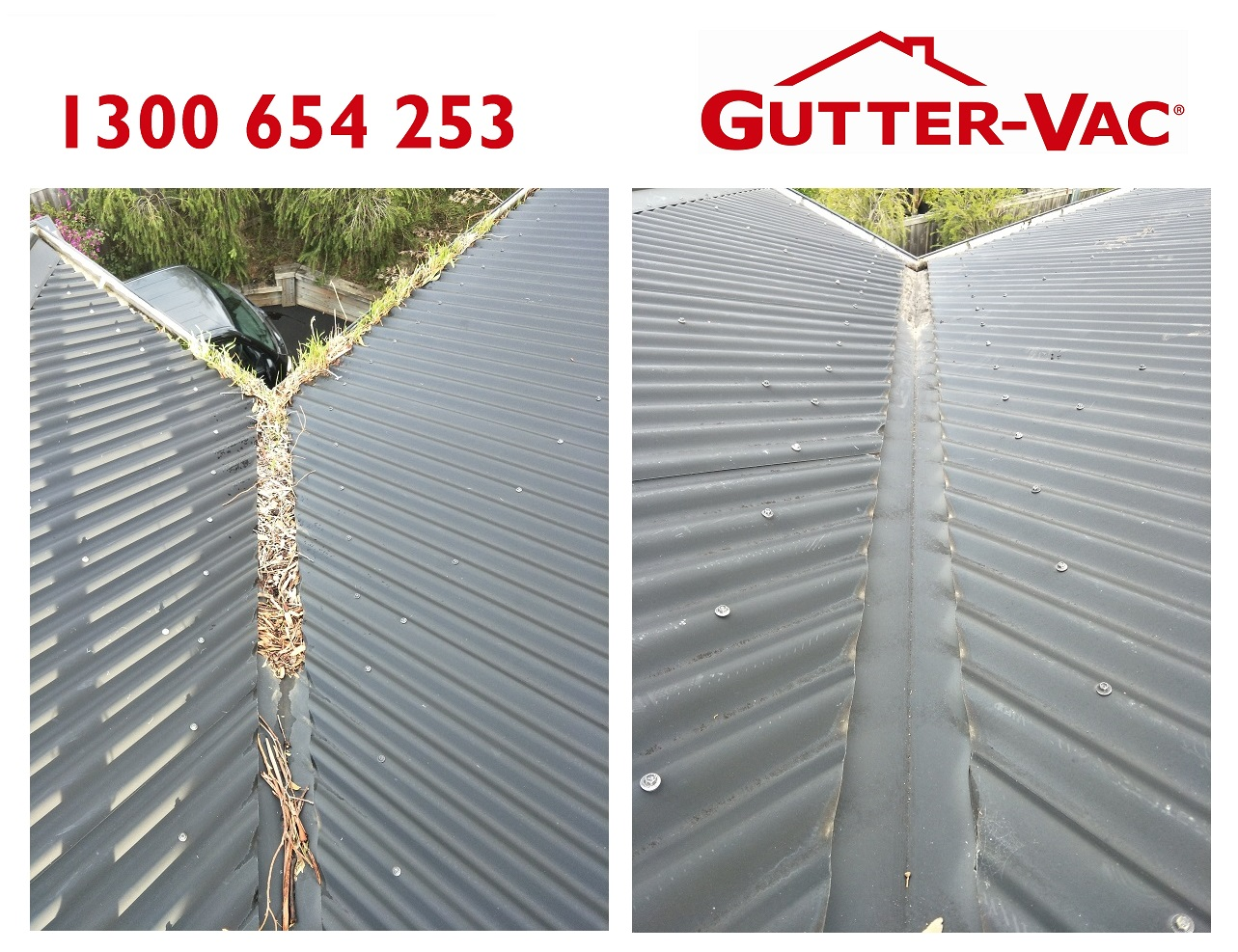 Valleys Can Collect As Much Debris As Gutters Gutter Vac