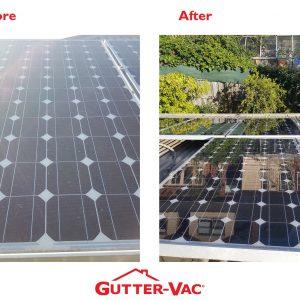 Gutter-Vac Tasmania Solar Panel Clean