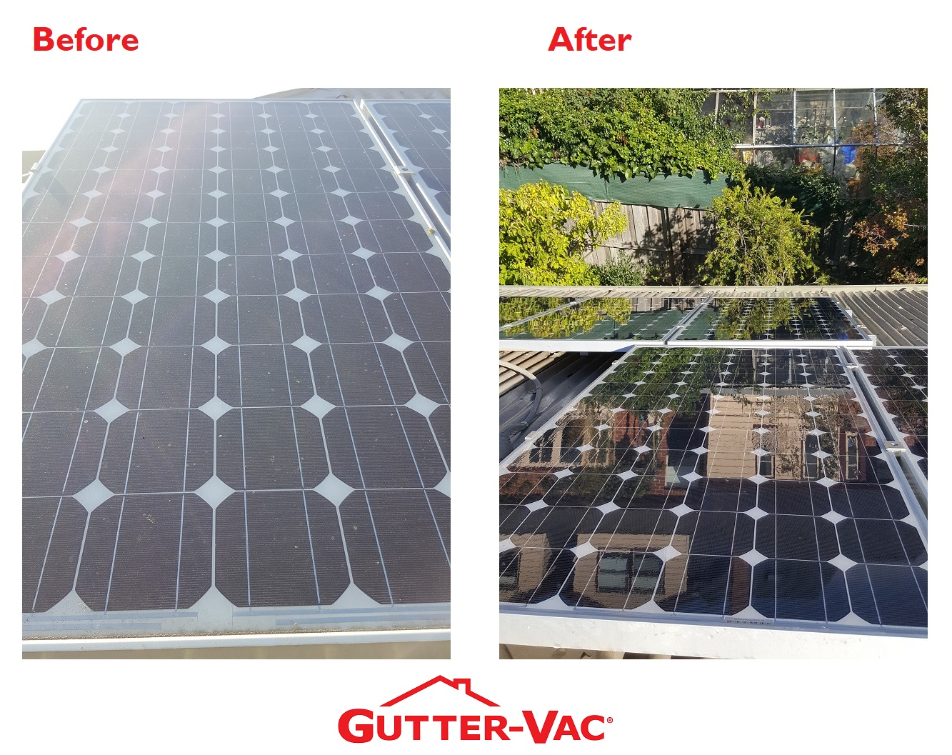 Have Your Solar Panels Cleaned At The Same Time As Your Roof Gutters