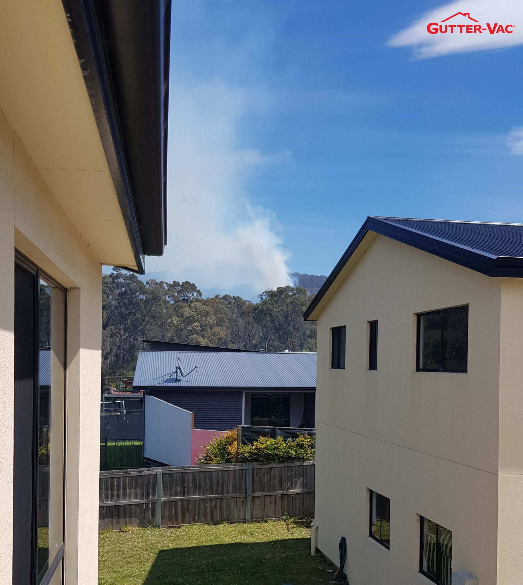 Gutter-Vac Tasmania Bush Fire Awareness