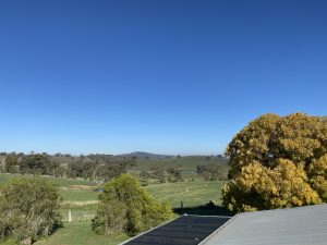 Office View while Gutter Cleaning at Mandurama NSW