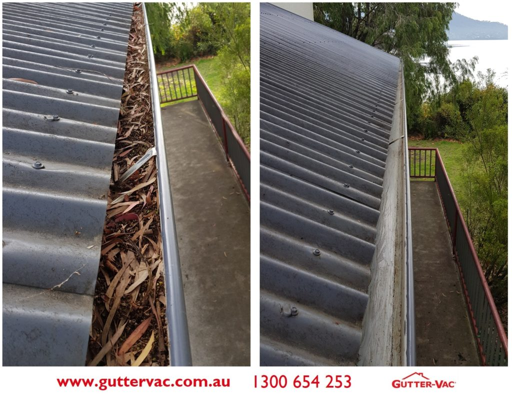 Gutter-Vac Tasmania Gutter Cleaning in May