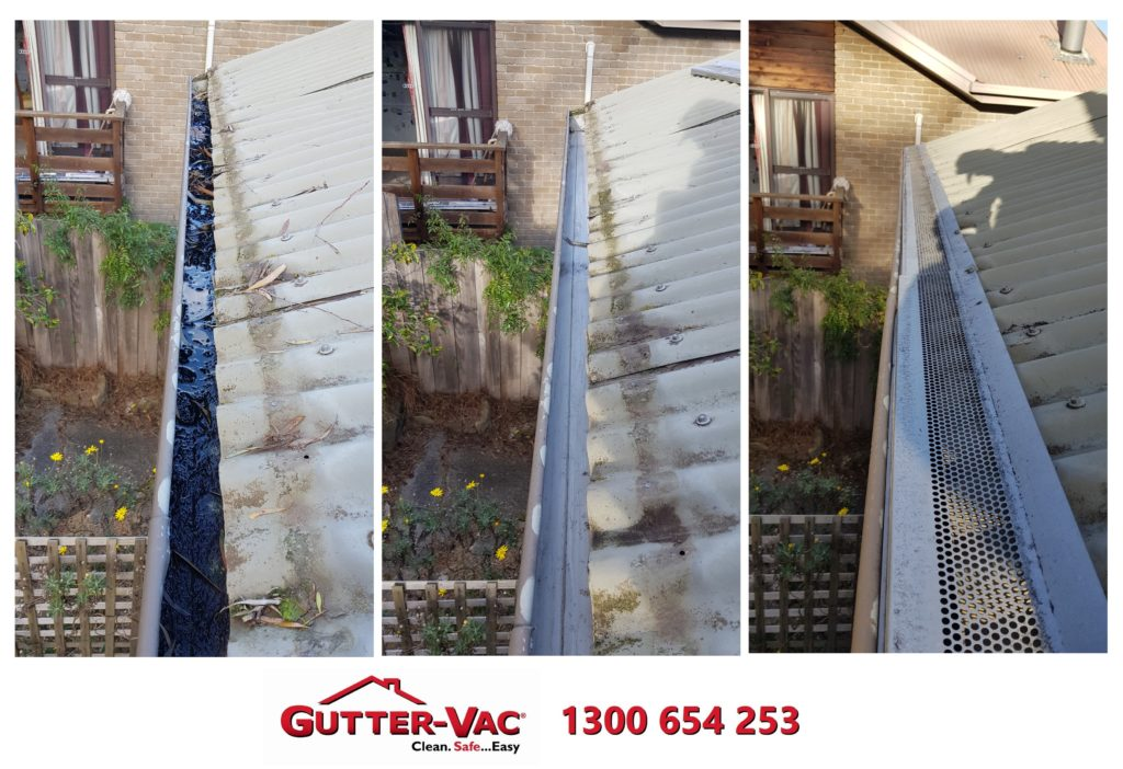 Gutter-Vac Tasmania Gutter Cleaning under Gutter Guard