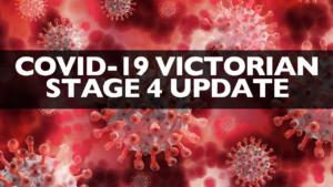 Victorian Stage 4 Shutdown