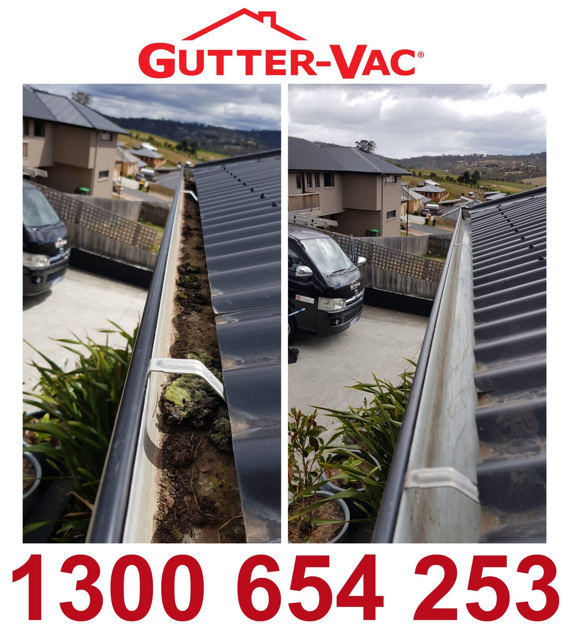 Gutter-Vac Tasmania Gutter Clean
