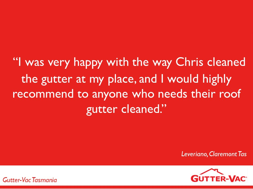 Satisfied Claremont Gutter Cleaning Customer