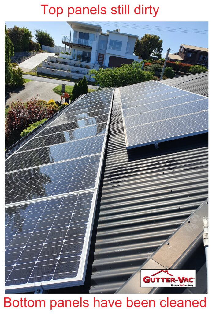 Solar Panel Cleaning in Devonport