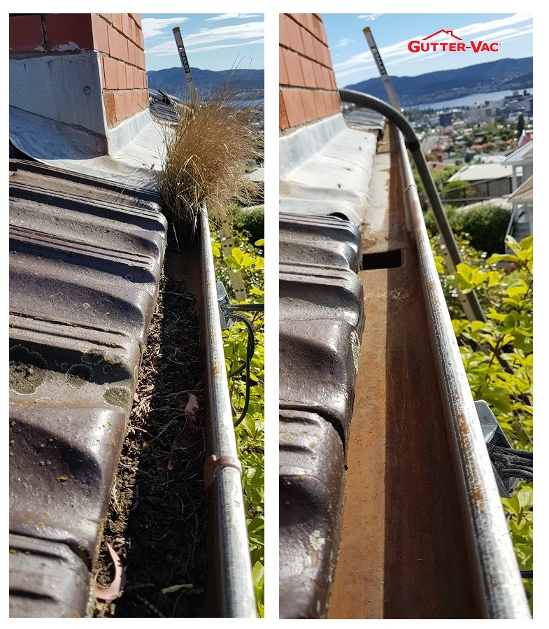 Gutter Cleaning in South Hobart
