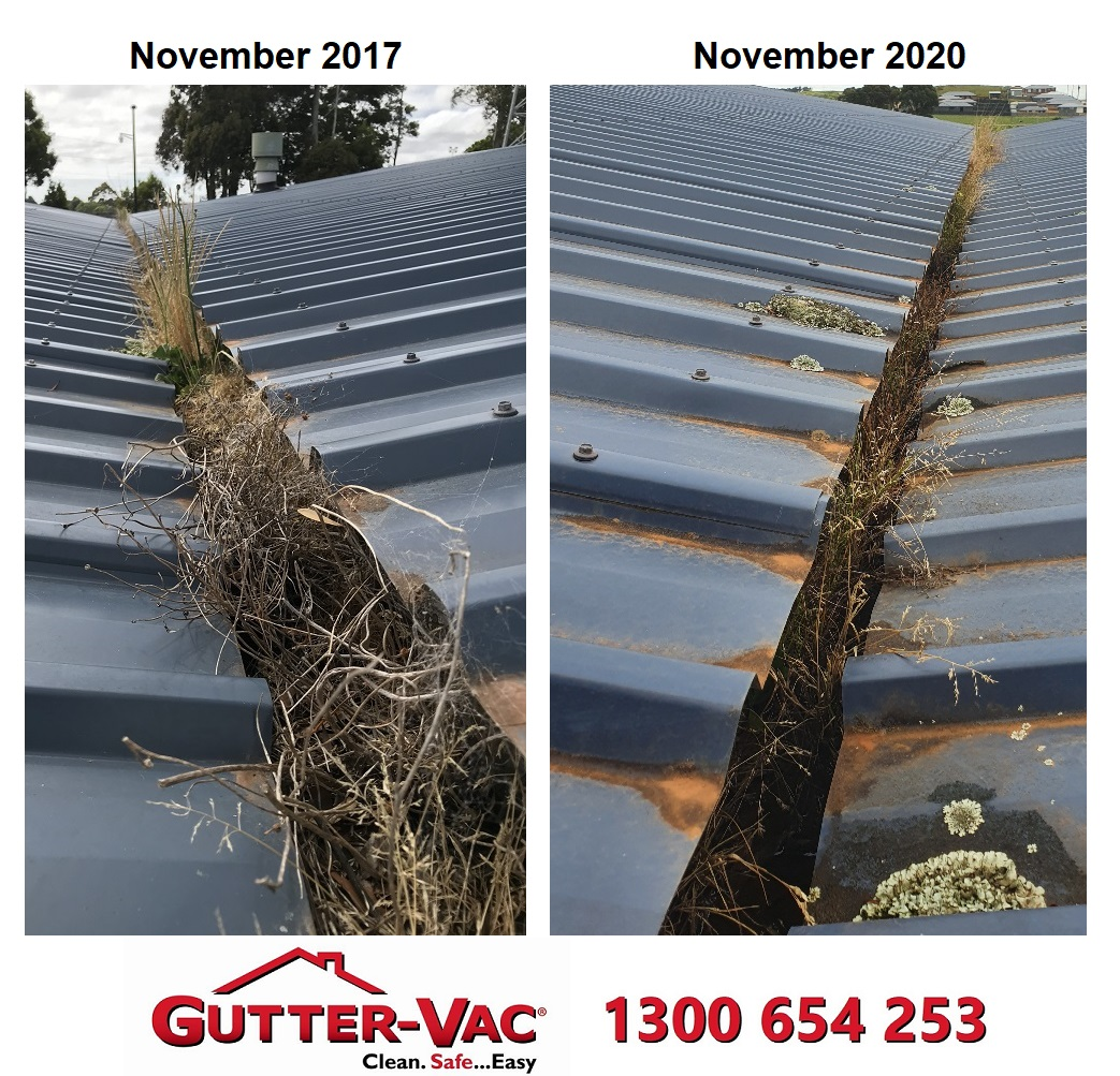 Gutter cleaning in Burnie