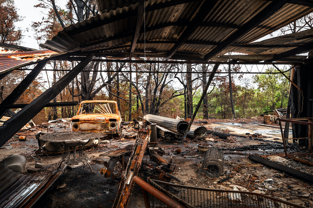 Types of Homes Most Susceptible to Bush Fires