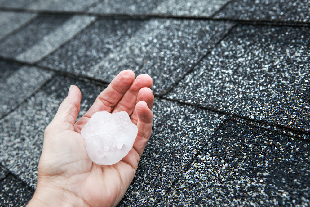 Can Hail Damage Your Roof?