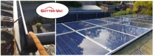 Gutter clean and solar panel clean Hobart